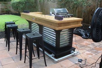 Outdoor Rolling Bar