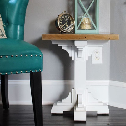 French Farmhouse Side Table