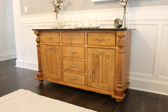 Hard Maple Custom Buffet
