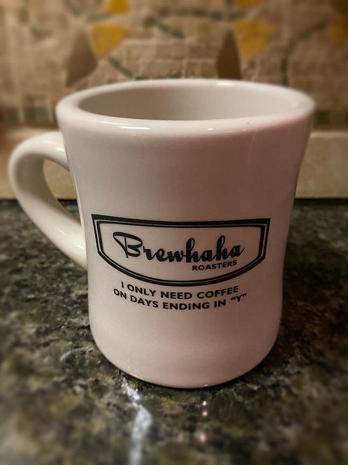 Brewhaha Diner Mug