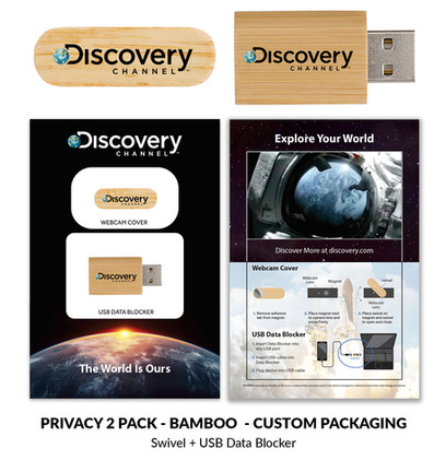 Discovery Privacy 2 Pack Bamboo CUSTOM 2