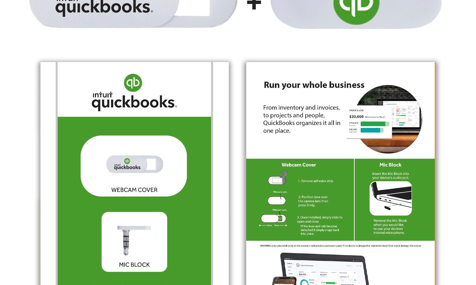 IntuitQuickbooks See no Hear No custom r