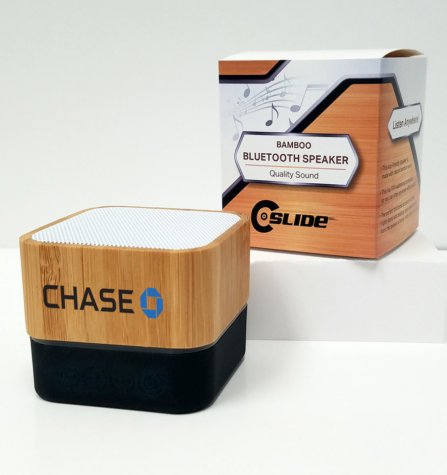 Chase bamboo bluetooth speaker standard