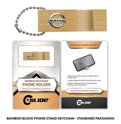 Nissan BambooPhoneStand Block Standard P