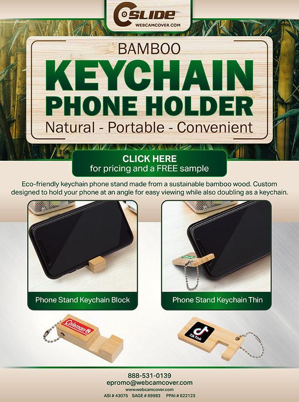 Bamboo Key Chain Phone Holder blast.jpg