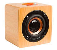 bamboo large bluetooth speaker home imag