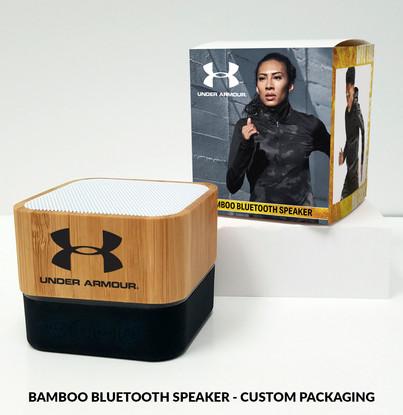 UnderArmour bamboo bluetooth speaker cus