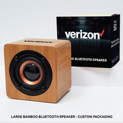 Verizon Large Speaker custom packaging 3
