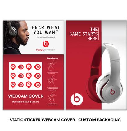 Beats Static Sticker Custom Packaging.jp