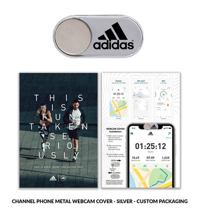 Adidas channelphone silver custom packag