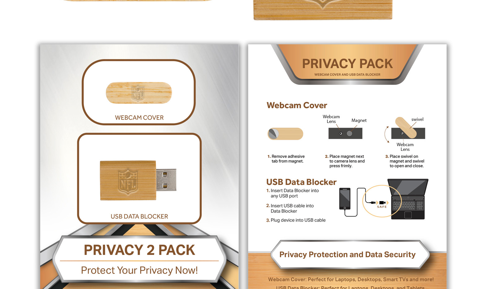 NFL Privacy 2 Pack Bamboo STANDARD.jpg