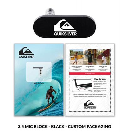 Quiksilver 3.5micblock custom packaging.
