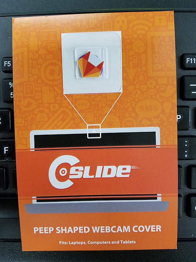 Peep Shaped PRODUCT GALLERY | C-SLIDE Custom Webcam Covers