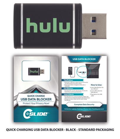 usb datablocker QC n standard black hulu