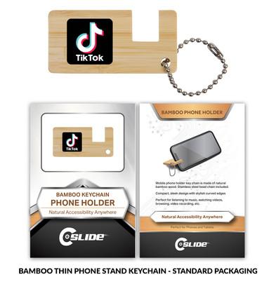 Tiktok BambooPhoneStand Thin Standard Pa