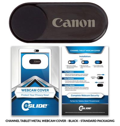 Canon Channel Tab Blk STANDARD card lase
