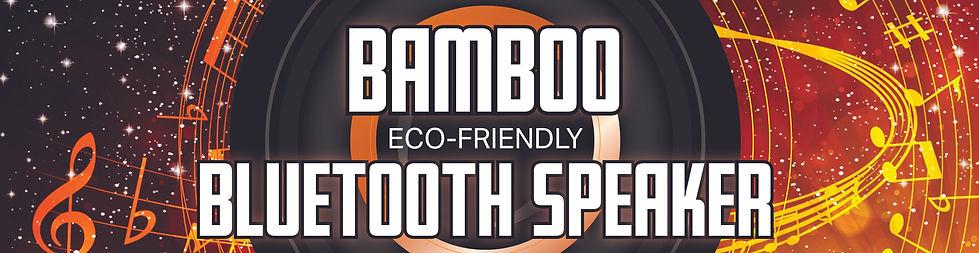 Large Bamboo Bluetooth Speaker sample ba