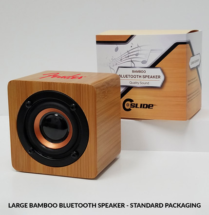 Fender Large Bamboo Bluetooth Speaker st