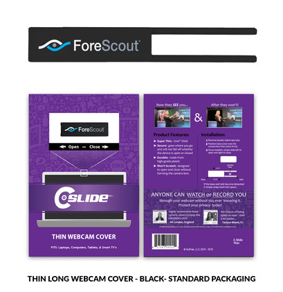 Thin Long with standard card - ForeScout