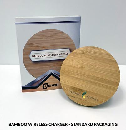 YoungLiving BambooWirelessCharger standa
