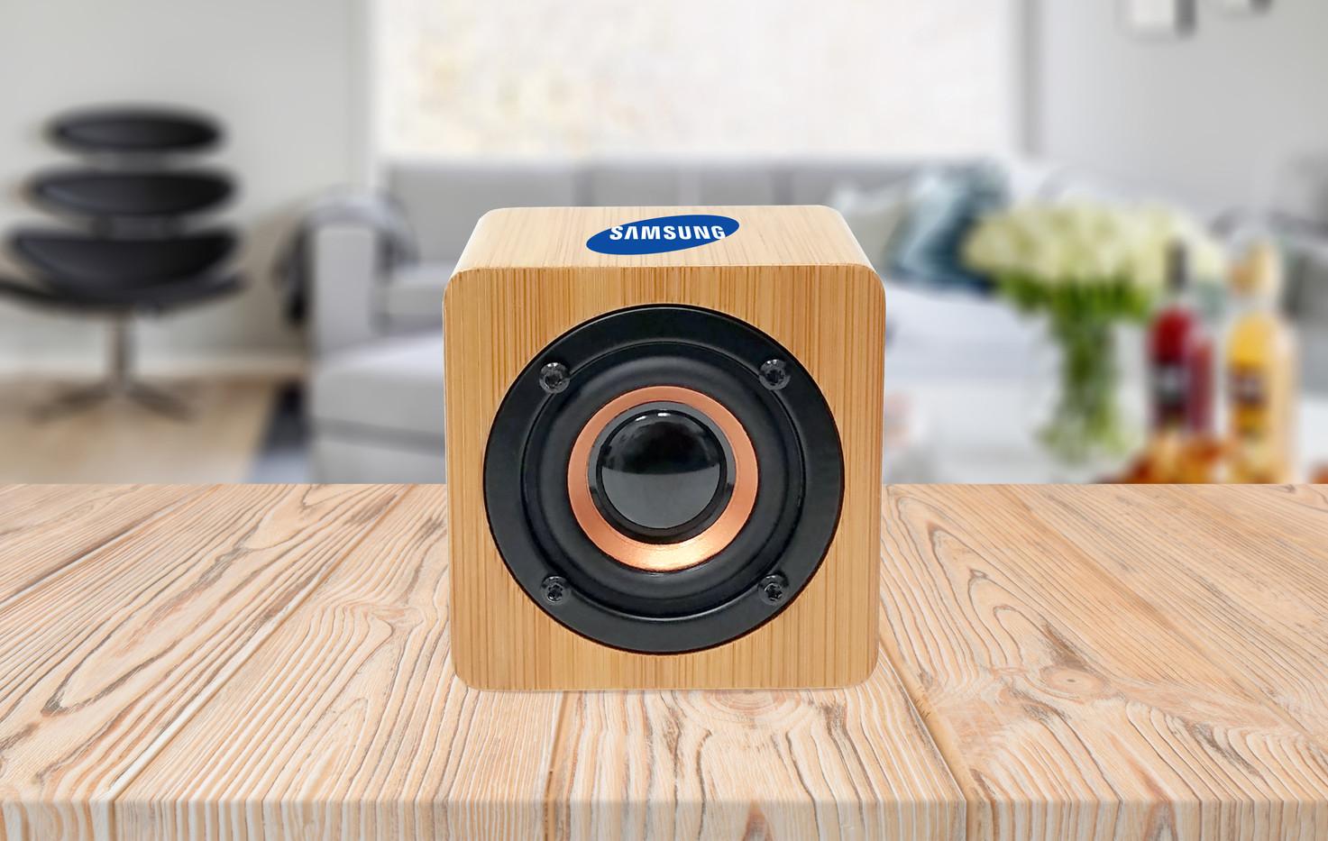 Samsung bamboo large bluetooth speaker h