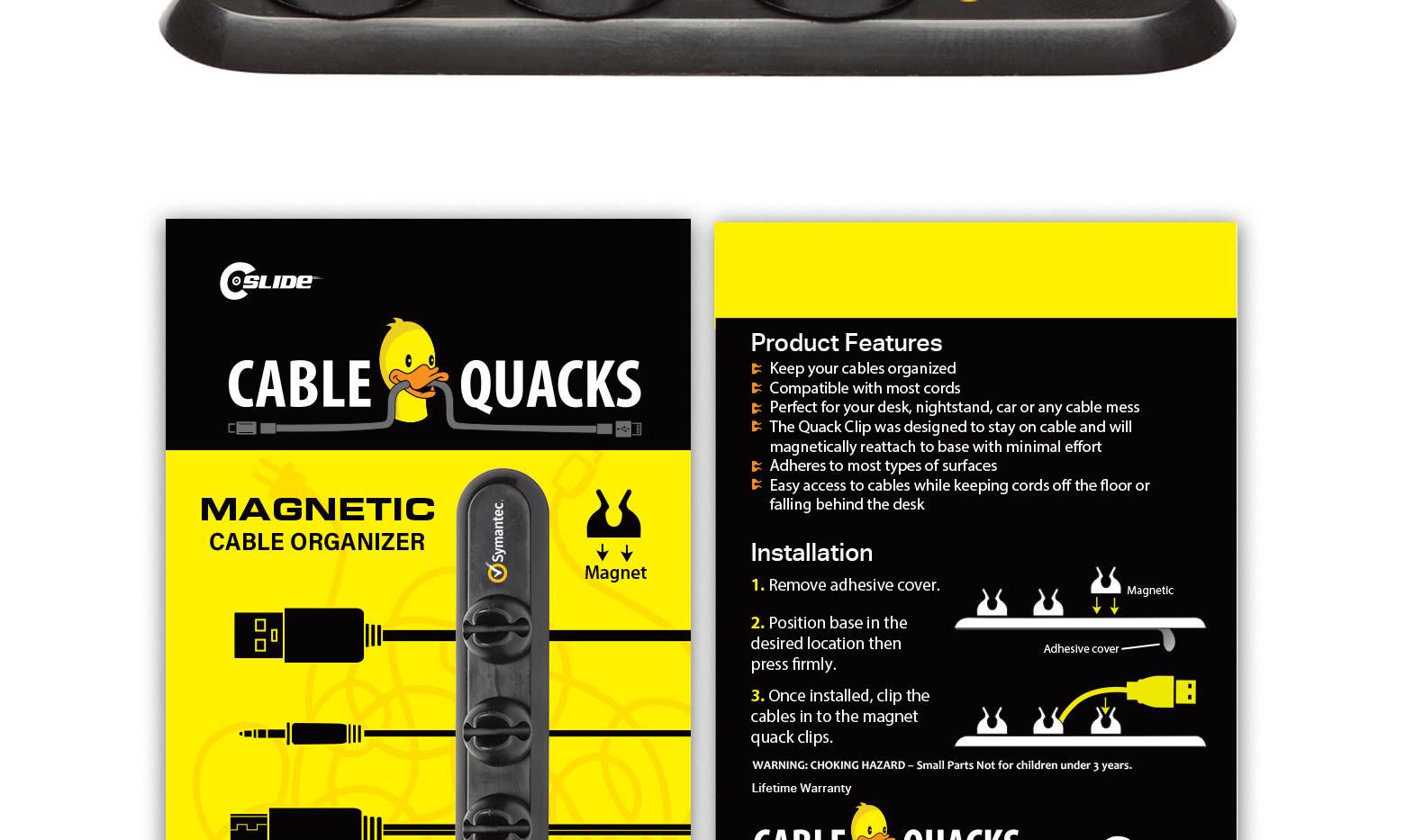 Cable quack symantic standard pack 4x6.j