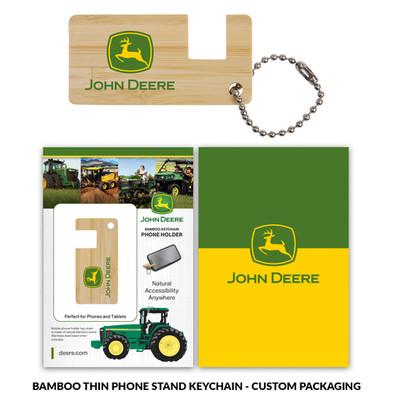 JohnDeere BambooPhoneStand Thin Custom P