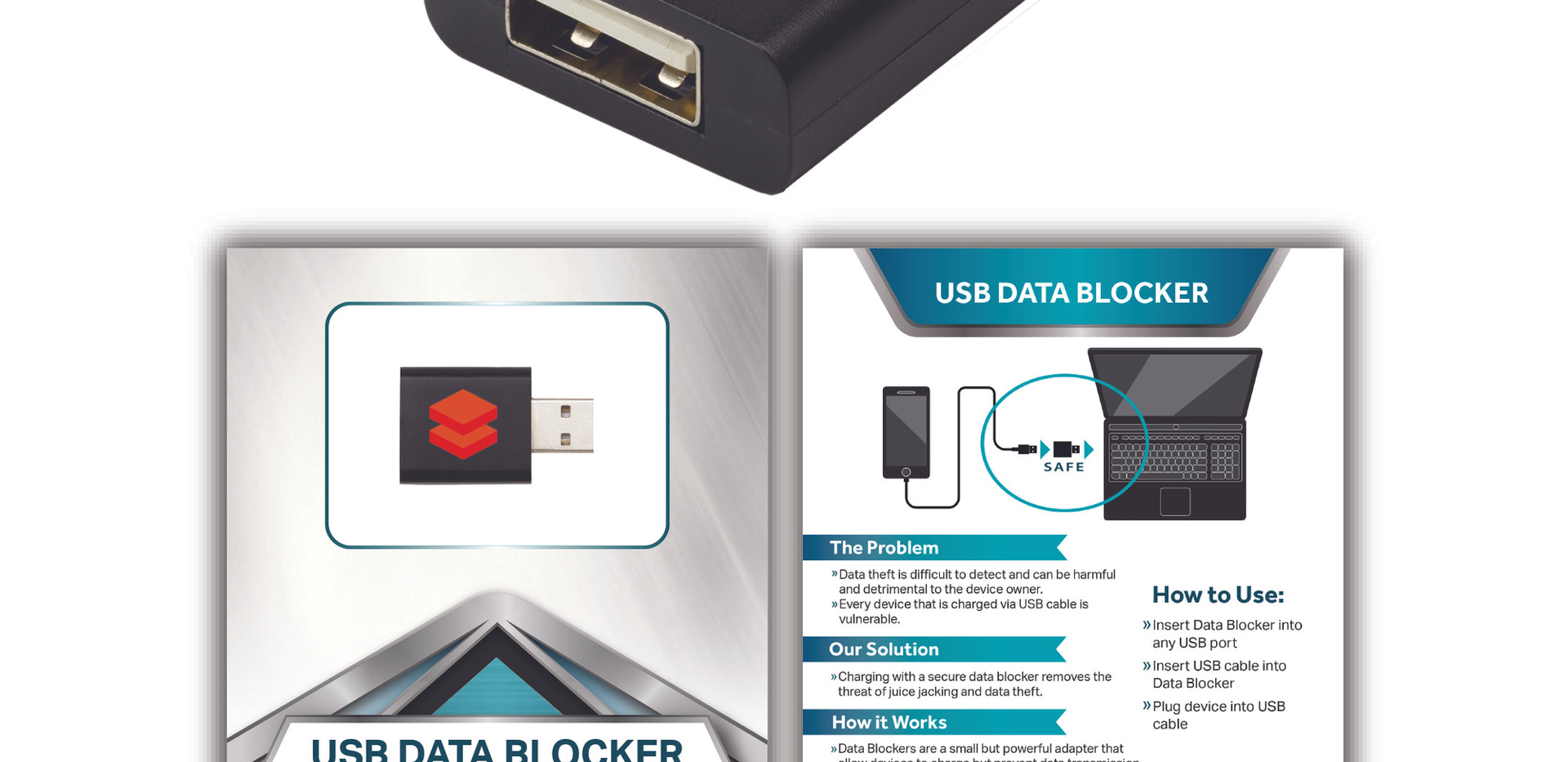 USB DataBlocker n standard black databri