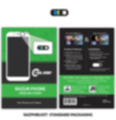 Razor Phone with standard card metlife.j