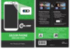 Razor Phone with standard card metlife j