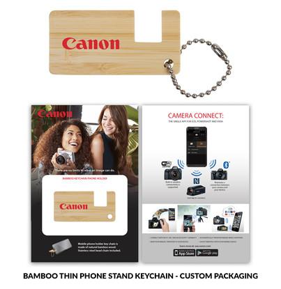 Canon BambooPhoneStand Thin Custom Packa