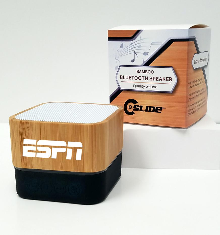 ESPN bamboo bluetooth speaker standard p