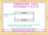 Razor Phone 3.5x2.5 biz card template fr