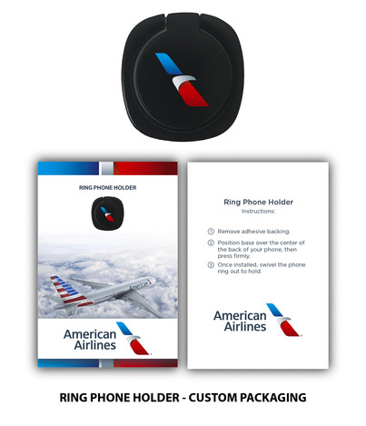 American Airlines Ring Phone Holder