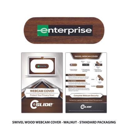 Enterprise Swivel Walnut Standard Card.j