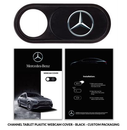 Mercedes-Benz channeltablet black plasti