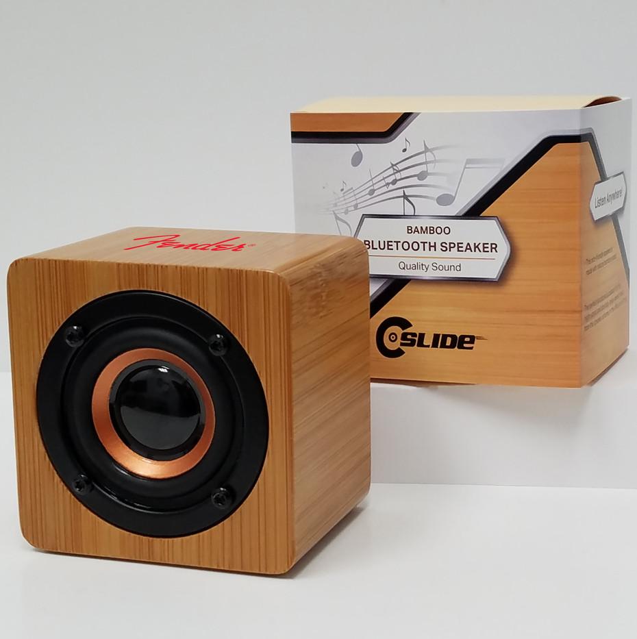 Fender large bamboo bluetooth speaker st