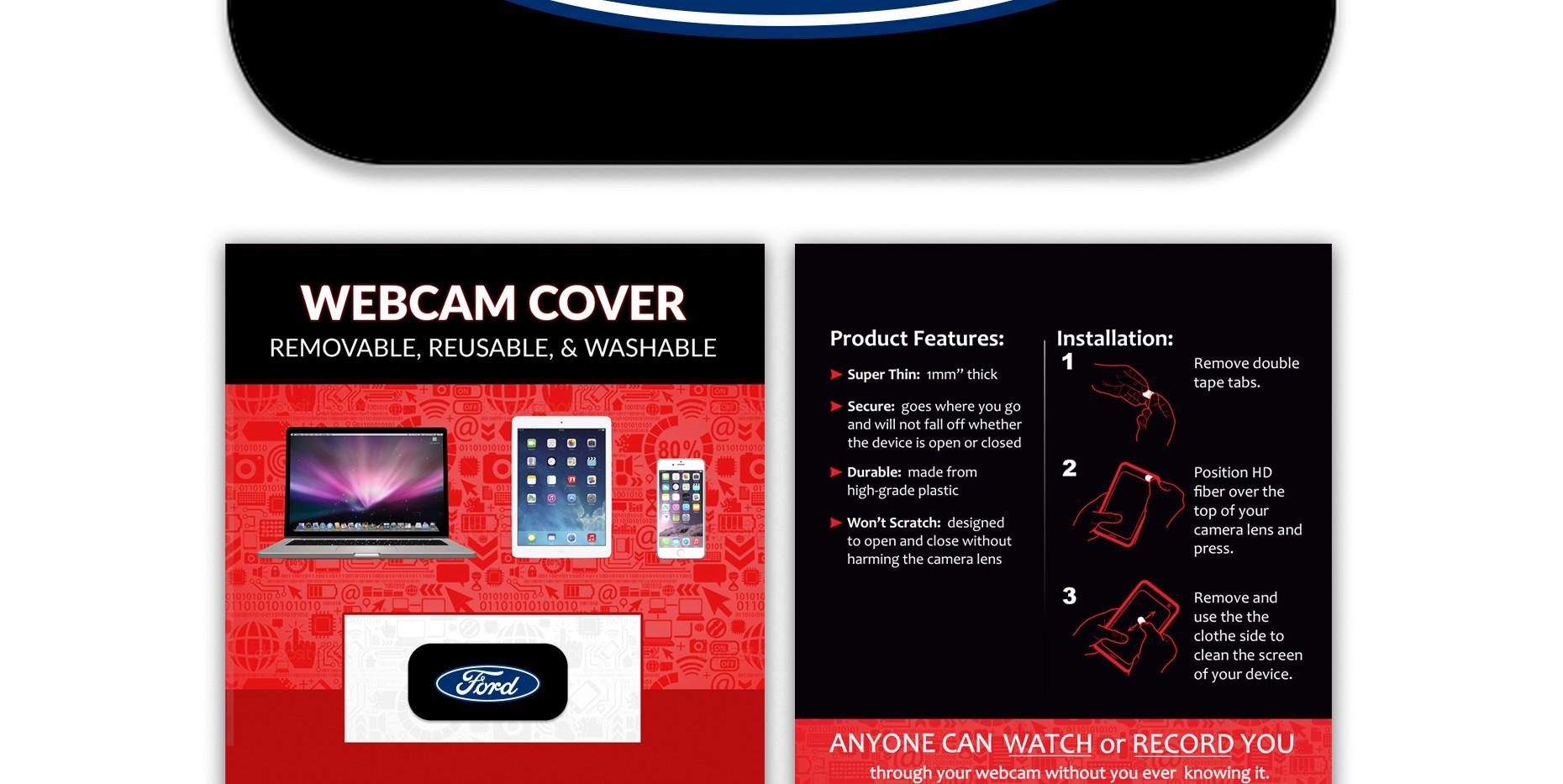 Ford HD Fiber Tab card standard black.jp