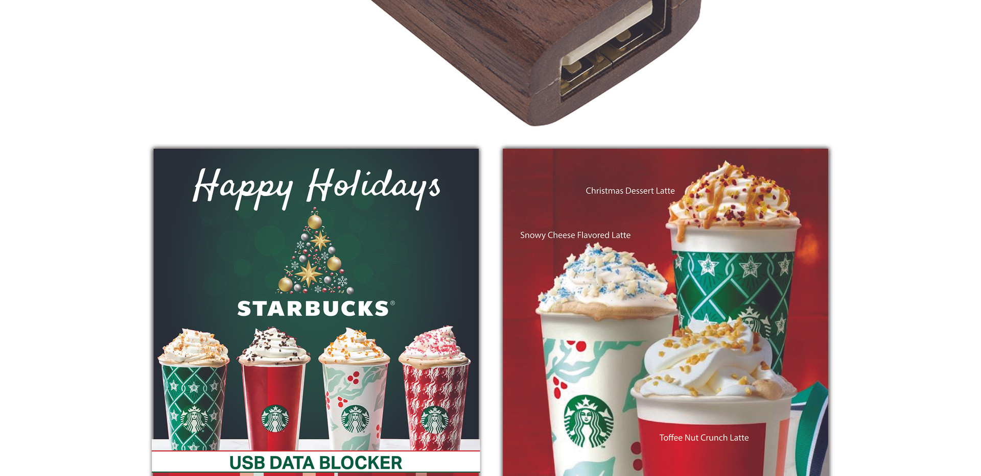 Starbucks Holiday USDB Walnut Custom Car