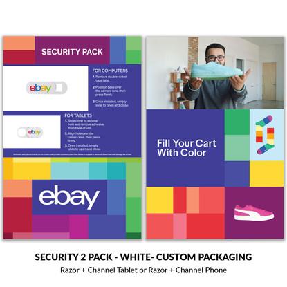 ebay security 2 pack custom packaging.jp