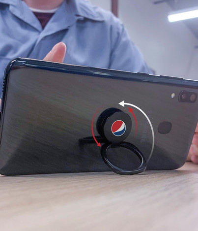 Ring Phone holder Rotation
