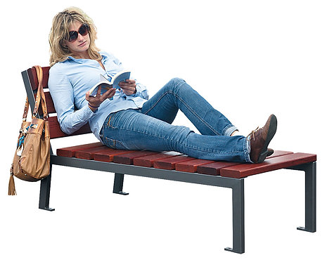 Installation chaise longue extérieure ProCity à Lyon et en Auvergne-Rhône-Alpes