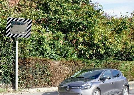 Installation miroir routier à Lyon et en Auvergne-Rhône-Alpes
