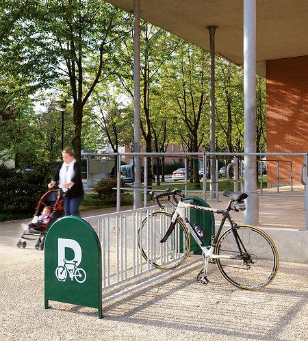 Installation support cycles grande capacité à Lyon et en Auvergne-Rhône-Alpes