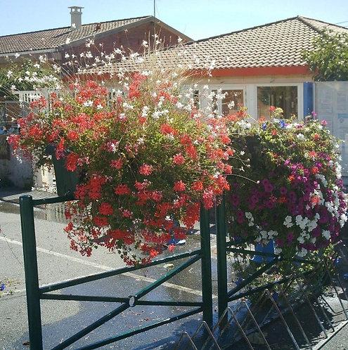 Installation barrière jardinière Green City à Lyon et en Auvergne-Rhône-Alpes