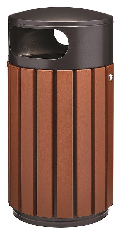 Installation poubelle extérieure métal Rossignol à Lyon et en Auvergne-Rhône-Alpes