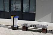 Installation poubelle extérieure à Lyon et en Auvergne-Rhône-Alpes