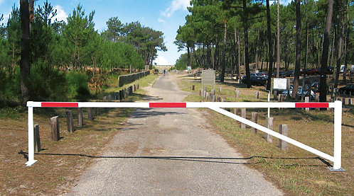 Installation barrière tournante ProCity à Lyon et en Auvergne-Rhône-Alpes