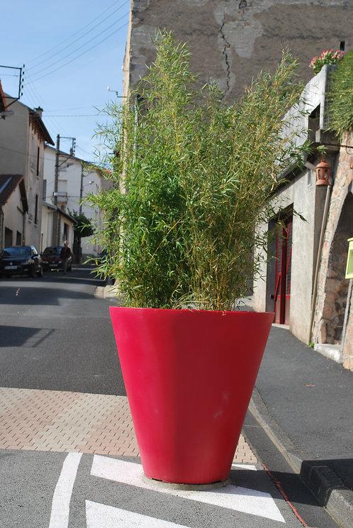 Installation pot de fleurs coloré à Lyon et en Auvergne-Rhône-Alpes