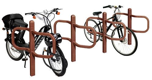 Installation appui cycles Conviviale ProCity à Lyon et en Auvergne-Rhône-Alpes